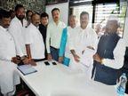 राष्ट्रवादीला मोठा धक्का; आमदार भास्कर जाधव यांचा राजीनामा; मातोश्रीवर केला शिवसेनेत प्रवेश  - Divya Marathi