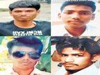 नांदेडला नगिना घाटावरून तीन कामगार गेले वाहून| - Divya Marathi