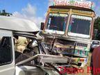 ट्रकचालकाने रागाच्या भरात ओम्नीचालकास चिरडले  - Divya Marathi