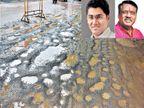 समस्यांचेच अहमद'नगर'; विकासाचा मुद्दा निवडणुकीतून हद्दपार| - Divya Marathi