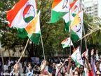 राष्ट्रवादीच्या दोन गटांची आपापसात हाणामारी; शरद पवार यांचा मेळावा आटोपताच झाला राडा!|अहमदनगर,Ahmednagar - Divya Marathi
