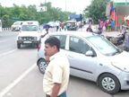 अक्षरधाम मंदिराजवळ पोलिसांवर 4 जणांच्या टोळक्याने केली फायरिंग, सुदैवाने जीवितहानी नाही  - Divya Marathi