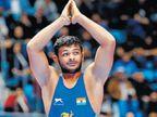 20 वर्षीय दीपक पुनियाने गाठले नंबर वनचे स्थान; 86 किलो गटात जगात अव्वल कुस्तीपटू  - Divya Marathi