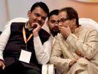 युतीची घाेषणा; आदित्य ठाकरेंनी  स्वत:चीच उमेदवारी केली जाहीर; जागावाटप फाॅर्म्युला गुलदस्त्यातच| - Divya Marathi