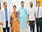 दोन्ही मूत्रपिंड झाले निकामी, आधी आईने मग पत्नीने आणि आता मुलीने डोनेट करून वाचवला या माणसाचा जीव| - Divya Marathi