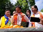 एकनाथ खडसेंनी दाखल केले दोन उमेदवारी अर्ज, एक भाजपकडून तर दुसरा अपक्ष| - Divya Marathi
