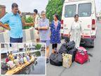 उपमुख्यमंत्री सुशील मोदींना तीन दिवसांनंतर घरातून सुरक्षित काढले| - Divya Marathi