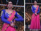 डान्स अॅक्टसाठी विशाल आदित्य सिंह बनला तृतीयपंथी, जिंकले जजेसचे मन टीव्ही,TV - Divya Marathi