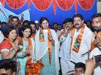 परळीत पंकजा मुंडेंचा धनंजय मुंडेंना जोरदार धक्का, काँग्रेस प्रदेश सरचिटणीसांनी सहकुटुंब घेतला भाजप प्रवेश|औरंगाबाद,Aurangabad - Divya Marathi
