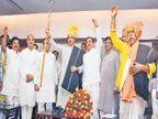 भाजपने मित्रपक्षांना 'जागा' दाखवली! उद्धव ठाकरेंचा टोला; विविध समाजनेत्यांसोबत साधला संवाद| - Divya Marathi