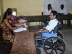 राज्यात एकूण 3 लाख 96 हजार 673 दिव्यांग मतदारांची नोंदणी, मतदान केंद्रांवर व्हीलचेअरसह विशेष सुविधा  - Divya Marathi