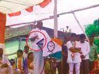 कुस्ती पैलवानांशी होते 'अशांशी' नाही, हाताने आक्षेपार्ह इशारा करत शरद पवारांचा फडणवीसांवर निशाणा|सोलापूर,Solapur - Divya Marathi