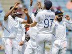 दक्षिण आफ्रिकेचे भारतीय गोलंदाजांपुढे लोटांगण; भारताचा आफ्रिकेवर एक डाव आणि 137 धावांनी विजय| - Divya Marathi