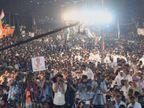 'शेतकरी आत्महत्या, बेरोजगारी, पीएमसी बँक घोटाळ्यावर मोदी- फडणवीस गप्प का?',  चांदिवलीच्या सभेत राहुल गांधींचा युती सरकारवर हल्लाबोल| - Divya Marathi