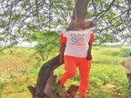 दिव्यांग शेतमजूर असलेल्या तरुण भाजप कार्यकर्त्याची आत्महत्या|बुलडाणा,Buldhana - Divya Marathi