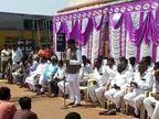 વીંછિયામાં વેપારી પર થયેલા ફાયરિંગમાં ન્યાય માટે સત્તા છોડી દઇશું: કુંવરજી બાવળિયા  - Divya Bhaskar