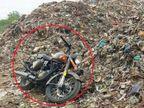યુવકે નવું નક્કોર બુલેટ કચરાના ઢગલામાં ફેંકી દીધું, શું છે કારણ?  - Divya Bhaskar