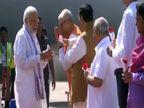 નરેન્દ્ર મોદી ગુજરાત પ્રવાસે, 3 જિલ્લામાં લોકાર્પણ-ખાતમુહૂર્ત સાથે લોકસભાનું રણશીંગું ફુંકશે PM|ગાંધીનગર,Gandhinagar - Divya Bhaskar