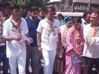 રાજકોટમાં વિપક્ષ નેતા ધાનાણીનું જનસંપર્ક અભિયાન, ખેડૂતોના પ્રશ્ને સેવ્યું મૌન| - Divya Bhaskar