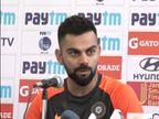 પાંચ બોલરો સાથે ટીમ ઇન્ડિયા ઉતરશે, લોકલ બોય જાડેજા ઘર આંગણે ખીલશે: કોહલી| - Divya Bhaskar