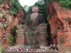ચીન: વિશ્વની સૌથી ઊંચી બુદ્ધ પ્રતિમામાં તિરાડો, સમારકામ માટે 4 મહિના ચેકિંગ થશે| - Divya Bhaskar