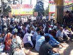 માઉન્ટ આબુ ત્રીજા દિવસે બંધ, નવા બાંધકામની લડાઈમાં હિલ સ્ટેશન બન્યું સુમસામ પાલનપુર,Palanpur - Divya Bhaskar