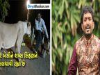ગીરમાં કૂતરાએ સિંહને ભગાડ્યો ત્યારે રાજભા ગઢવી અને સિંહ વચ્ચે થયો હતો કાલ્પનિક સંવાદ|અમદાવાદ,Ahmedabad - Divya Bhaskar