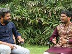 ગીરમાં ગાયો ચરાવતી વખતે ગાવાની શરૂઆત કરી સફળ કલાકાર બનનાર રાજભા ગઢવી સાથે ખાસ મુલાકાત| - Divya Bhaskar