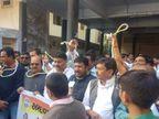 VS બચાવો આંદોલન કરતા કોંગી કાર્યકર્તાઓ-ધારાસભ્યોની અટકાયત, પોલીસ સાથે ઘર્ષણ| - Divya Bhaskar