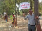 SG હાઈવેને સિક્સલેન બનાવવા હજારો વૃક્ષોનું નિકંદન કાઢતાં પર્યાવરણપ્રેમીઓનું ચિપકોઆંદોલન| - Divya Bhaskar