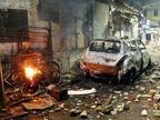 અમદાવાદમાં કેન્ડલ માર્ચ દરમ્યાન જૂથ અથડામણ, વાહનોમાં તોડફોડ અને આગચાંપી| - Divya Bhaskar