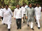 અડાલજમાં રાહુલ-પ્રિયંકાની સભાને લઈ તૈયારીઓ શરૂ , કોંગ્રેસના સિનિયર નેતાઓ સાથે અહમદ પટેલની મિટિંગ  - Divya Bhaskar