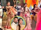 નણંદના લગ્નમાં ખુબ નાચી શિલ્પા શેટ્ટી, પતિ સાથે કર્યો 'લેમ્બોર્ગિની' સોંગ પર ડાન્સ| - Divya Bhaskar