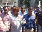 રાજકોટમાં 37 જેટલા છરીના ઘા ઝીંકી મિત્રની હત્યા કરનાર આરોપીનું પોલીસે સરઘસ કાઢી જાહેરમાં માફી મંગાવી| - Divya Bhaskar