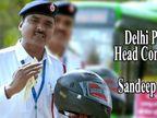દિલ્હીનો આ ટ્રાફિક પોલીસ 'અપના ટાઇમ આયેગા' રેપ સોંગ ગાઈને આપે છે ટ્રાફિક સુરક્ષાની માહિતી|ઈન્ડિયા,National - Divya Bhaskar
