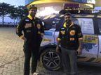 કર્ણાટકના બે યુવકો વાઘના સંરક્ષણનો મેસેજ આપવા 'ધ રોર ટ્રિપ' પર નીકળ્યા  - Divya Bhaskar