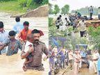 ભરૂચ જિલ્લામાં 2400 પૂર અસરગ્રસ્તોનું સ્થળાંતર|ભરૂચ,Bharuch - Divya Bhaskar