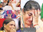 પ્રેમ જોઇ પરિવારજનો ભાવુક, કહ્યું- લોકો દ્વારા આટલો પ્રેમ મળ્યો હોય તેવું સૌપ્રથમ વખત સુરતમાં જોયું સુરત,Surat - Divya Bhaskar