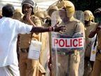 28 ટકા પોલીસકર્મીઓએ માન્યું, નેતાઓનું દબાણ તપાસમાં મોટો અવરોધ ઈન્ડિયા,National - Divya Bhaskar