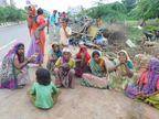 રાજપથ માર્ગ પરથી 50 ઝૂંપડા દૂર કરાતાં ગરીબ પરિવારો મુશ્કેલીમાં આણંદ,Anand - Divya Bhaskar