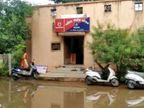વરસાદને પગલે મોડાસા મહિલા પોલીસ સ્ટેશન પાણીથી ઘેરાયું, અગવડતાનો સામનો કરતા પોલીસ અને ફરીયાદી  - Divya Bhaskar