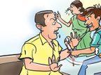 અર્બન બેન્કના ડિરેકટર કિરીટ પટેલને પત્ની, પુત્ર, પુત્રી, જમાઇએ ફટકાર્યો, સામે પત્નીની પણ હુમલાની ફરિયાદ|મહેસાણા,Mehsana - Divya Bhaskar