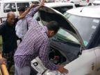 સિવિલ હોસ્પિટલમાં પાર્ક કારમાં ટાઈમ બોમ્બની અફવાએ તંત્રને દોડતું કરી દીધું|સુરત,Surat - Divya Bhaskar