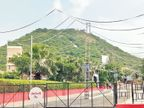 પાંચાળની ભૂમિમાં મા ચામુંડાનાં બેસણા, ડુંગરે નવરાત્રીએ શણગાર સુરેન્દ્રનગર,Surendranagar - Divya Bhaskar