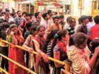 મઢ અને ભુજમાં ઘટ સ્થાપન સાથે નવરાત્રિ શરૂ, માતાનામઢમાં ભક્તોની અભૂતપૂર્વ ભીડ જામી| - Divya Bhaskar