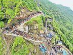 પહેલા નોરતે પાવાગઢમાં 2 લાખ માઇ ભક્તો ઊમટ્યાં| - Divya Bhaskar