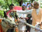 ખેતી અને ખેડૂતોના સર્વાંગી વિકાસ માટે સુભાષ પાલેકર પ્રાકૃતિક કૃષિ શ્રેષ્ઠ: ગુજરાત રાજ્યપાલ આચાર્ય  દેવવ્રત્ત હિંમતનગર,Himatnagar - Divya Bhaskar