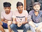 10 લાખની સિગારેટની ચોરી માટે 7 શખ્સોએ 1 કાર, 2 મોપેડમાં 300 KMનું અંતર કાપ્યું|ગાંધીનગર,Gandhinagar - Divya Bhaskar