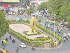 શાહીબાગના નમસ્તે સર્કલ પાસે એક મહિનામાં ત્રણ અકસ્માતમાં બેનાં મોત, સર્કલ નાનું કરવા માગણી| - Divya Bhaskar