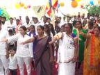 મ.પ્ર.ના  શિવપુરીમાં બે બાળકોની હત્યાના વિરોધમાં ઈડરમાં 105 લોકોએ બૌધ્ધ ધર્મ અંગીકાર કર્યો હિંમતનગર,Himatnagar - Divya Bhaskar